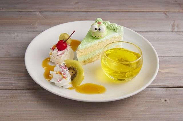 けろけろけろっぴのケーキセット 1380円
