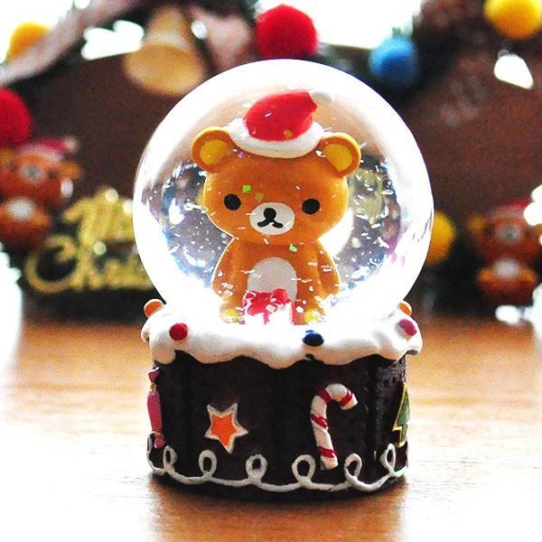 リラックマクリスマススノードーム