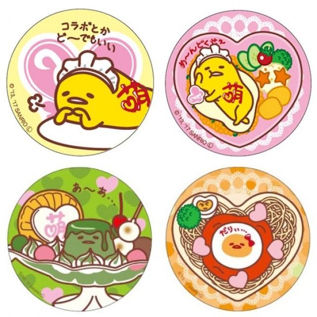 缶バッジ(4種)400円(税別) ・缶ミラー(4種)6...