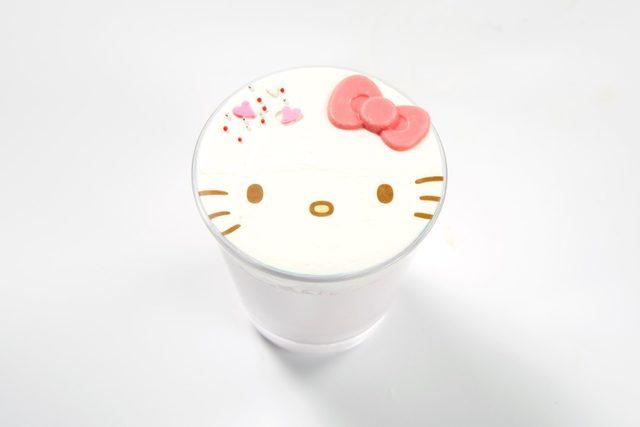 ハローキティのチョコスムージー  ¥830