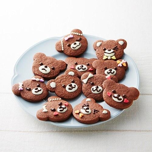 みんなにあげたいHAPPYくまちゃんクッキー