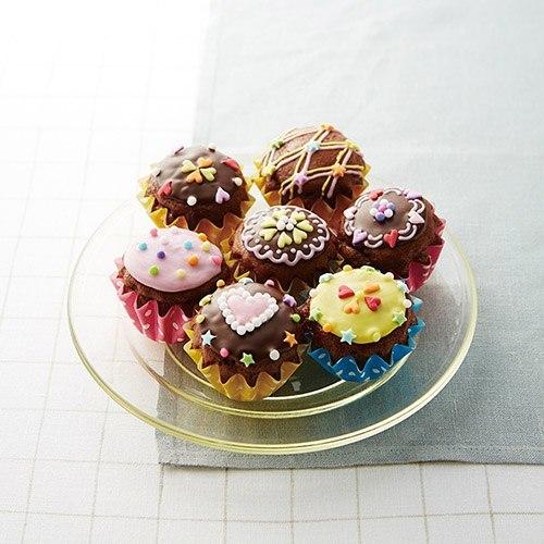とびきりキュートなミニDECOカップケーキ