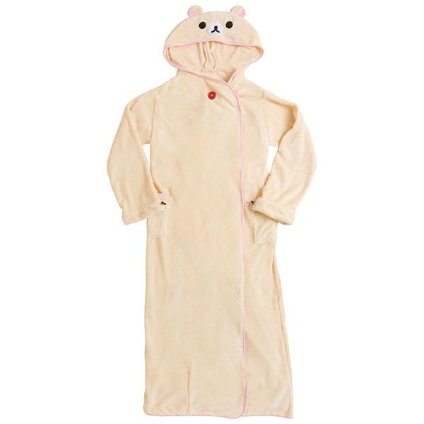 着る毛布フーモプレミアムコリラックマバージョン。薄くて...
