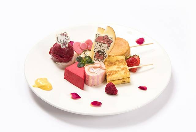 おそ松×ハローキティ おでんケーキプレート  ¥ 1,...