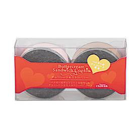 バタークリームサンドクッキー ~ショコラ&ストロベリー~