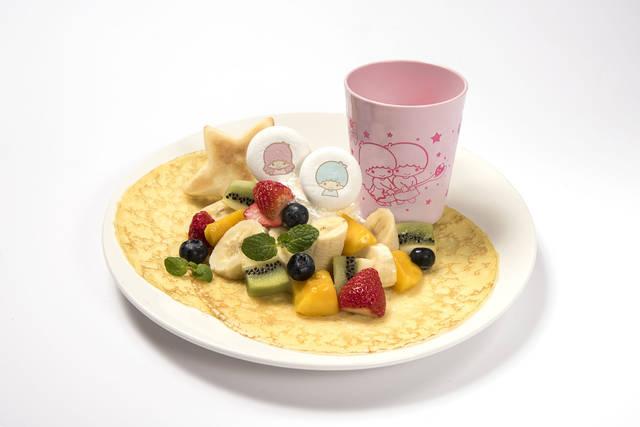 キキ&ララのフルーツたくさん贅沢クレープ 〜プレゼント...