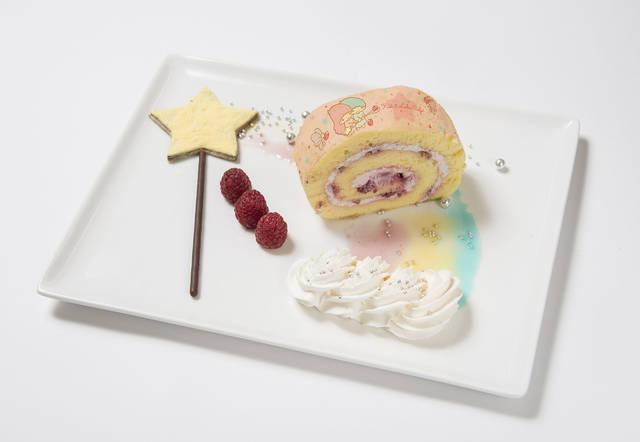 星のステッキから出てきた魔法のロールケーキ ¥980
