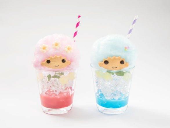 キキとララの綿菓子ソーダ 各¥880