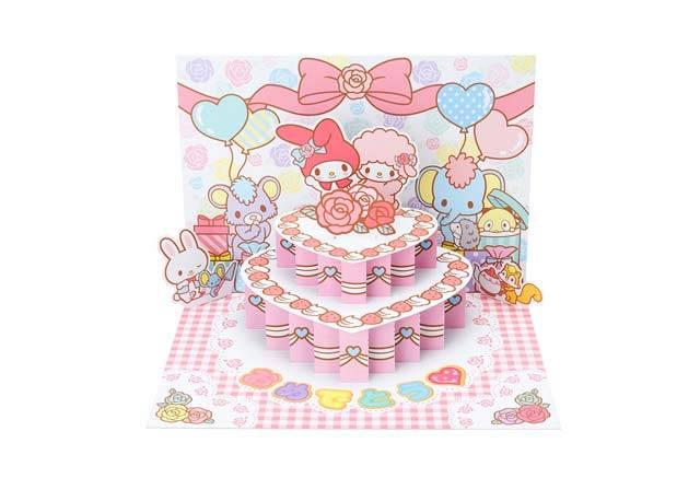 マイメロディのおめでとうケーキ 2,916円(税込み)