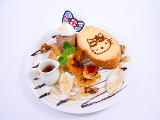 キャラメルチョコバナナのフレンチトースト 1,200円...