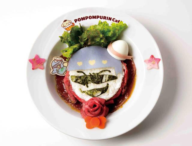 カラ松とタキシードサムの俺たち肉食系!ローストビーフ丼...