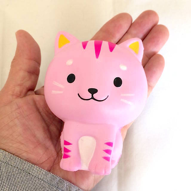 ねこ(ピンク/ピンク)