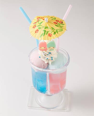 キキ&ララのツインズクリームソーダ 1000円(税込み)