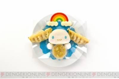 シナモロールのふわふわサンドイッチプレート(950円)