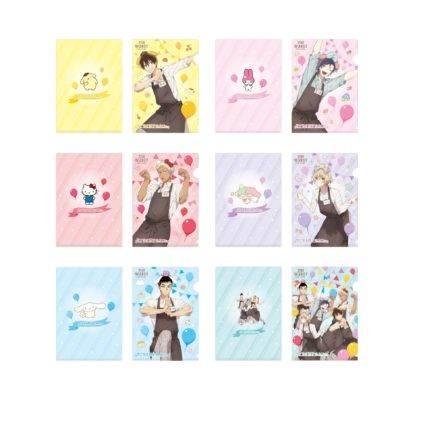 シークレットA5クリアファイル 全6種 ¥300