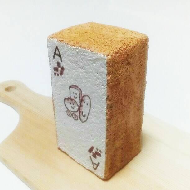 手作りスクイーズ厚焼きお絵描きパン