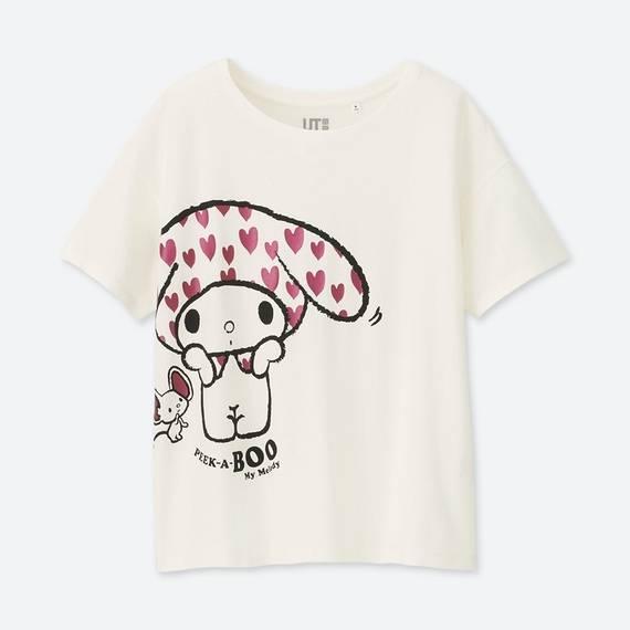 サンリオグラフィックT(半袖)+E マイメロディ ¥9...