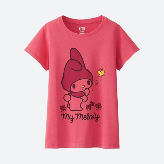 GIRLS サンリオキャラクターズ グラフィックT(キ...