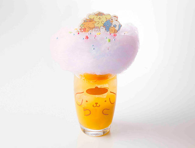 ふわふわ雲の上でパーティ!オレンジソーダフロート 60...