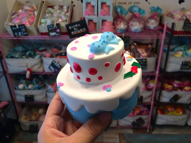ブルーリボンケーキ