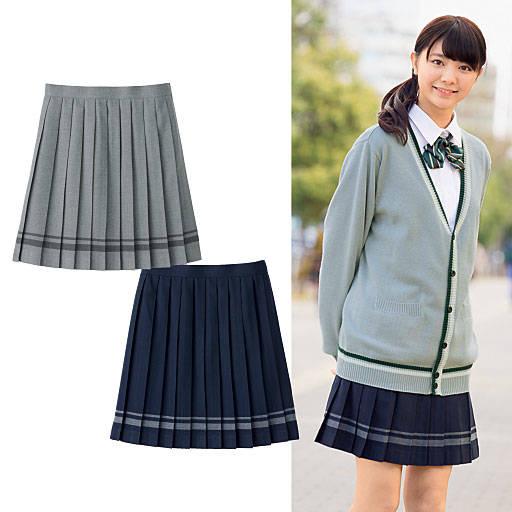 ♡これからの季節にぴったりなライン入りのスカート♡
