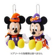 Disney ミッキー&ミニー ハロウィン ドールポー...