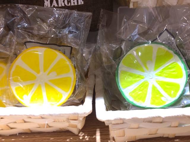 果汁たっぷりレモン&ライム