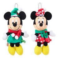 Disney ミッキー&ミニー クリスマス ドールポー...
