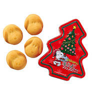 PEANUTS スヌーピー クリスマスツリー缶 (クッキー)