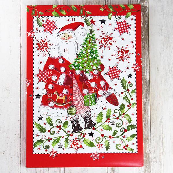 リゲライン チョコカレンダー(赤) 1枚