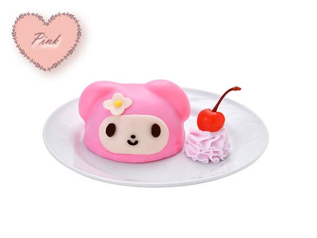ピンクコーデのマイメロディケーキ 900円(税込)