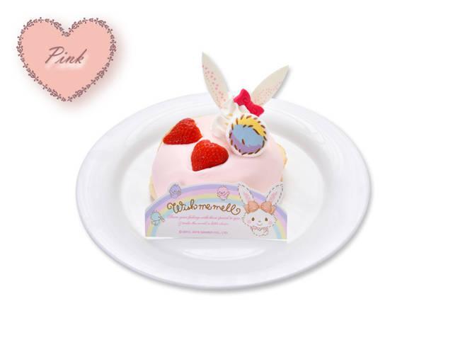 ウィッシュミーメルのピンクリコッタパンケーキ