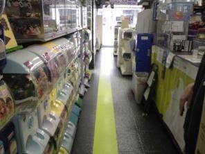 【東京ガチャガチャ】秋葉原ガチャポン会館・通路