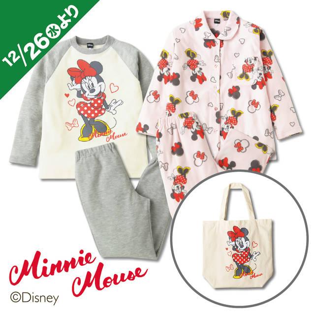 レディース キャラクターパジャマ ハッピーバッグ【3点...