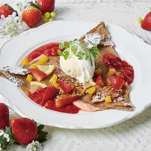 ■苺とカスタードクリームのガレット〈期間限定商品〉