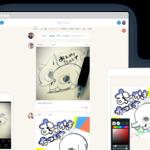 【お家で過ごすおススメ😘】みんなとつながるイラスト無料アプリ『pixiv Sketch』💕