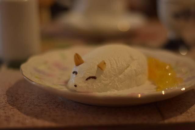 白狐チーズケーキ