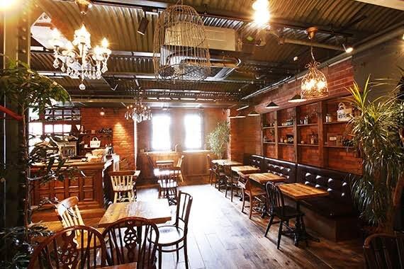 カフェやレストラン