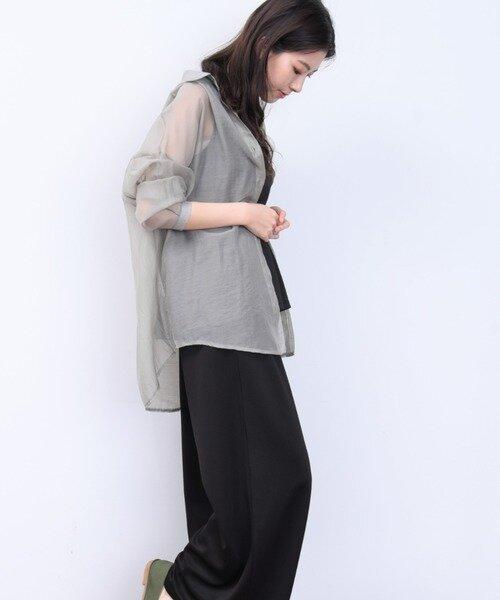 ap retro シアーBIGシャツ【ZOZOTOWN...