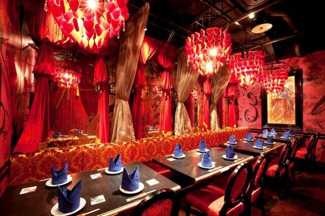 ◆赤の寝室
