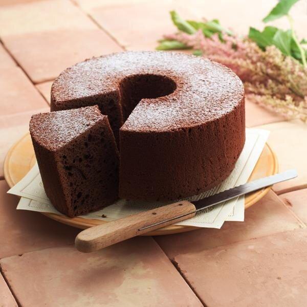 チョコシフォンケーキ