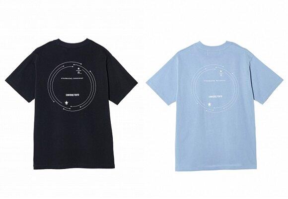 CONVERSE TOKYO Tシャツ ブラック/サッ...