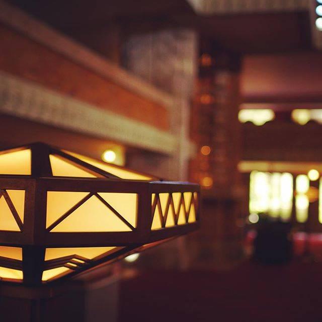 フォトジェニック 帝国ホテル 照明