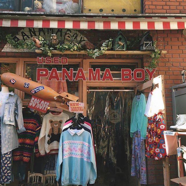 【プチプラ・ファッションショップ】パナマボーイ
