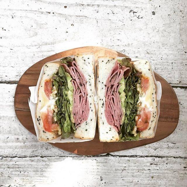 サンドイッチのメニューが豊富