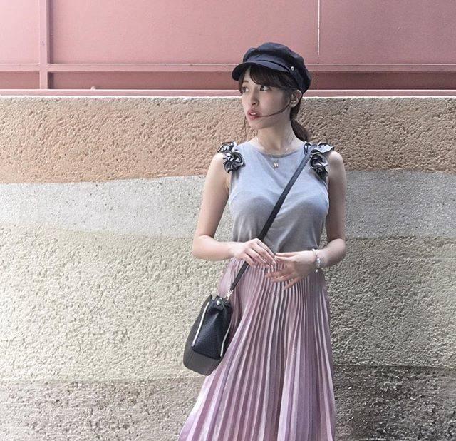 ガーリーなファッションコーデ