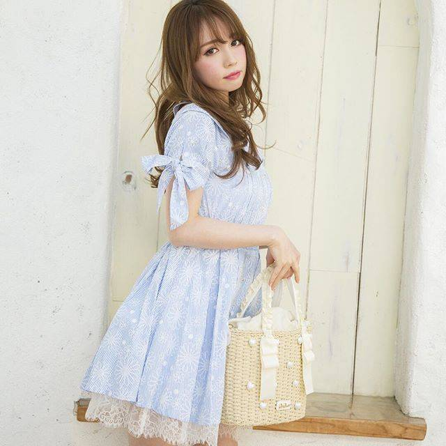 可愛いプチプラ姫コーデ