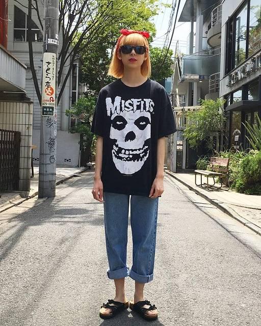 【原宿】10代女子におススメ!古着コーデ♡