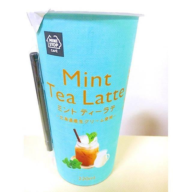 MINISTOP CAFE ミントティーラテ