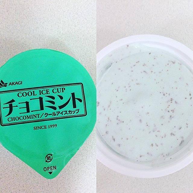 赤城乳業『チョコミント クールアイス カップ』